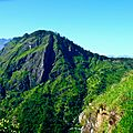 Depuis le Little Adam's Peak - Ella