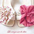 Bijou fleur pour un été à nos pieds