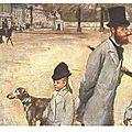 Degas, La place de la Concorde