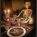 Squelettes et têtes de mort...