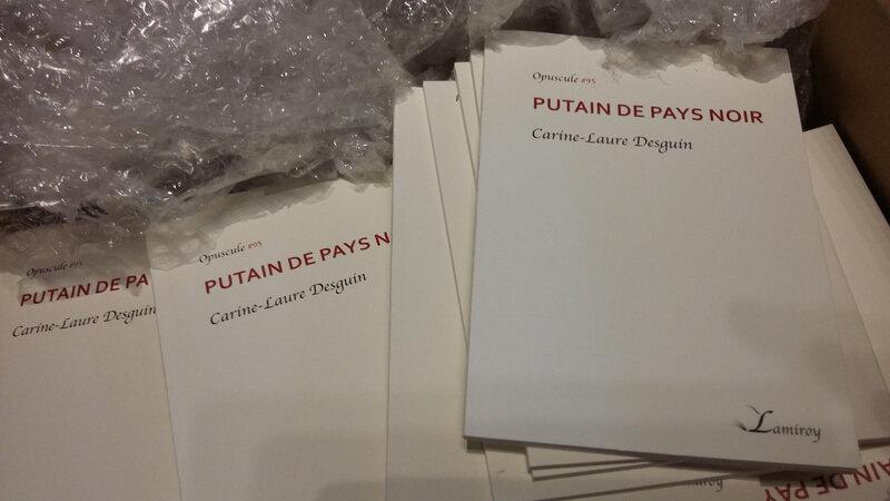 PUTAIN DE PAYS NOIR, Carine-Laure Desguin, Editions Lamiroy