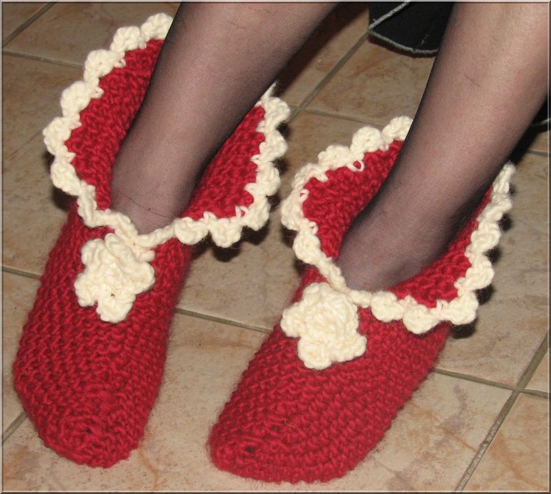 chaussons drops moi