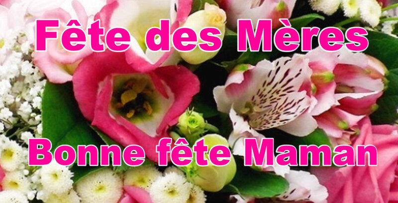 fleurs bonne fête maman