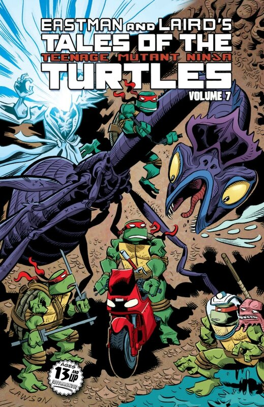 IDW TMNT tales of the TMNT vol 07 TP