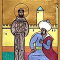Saint François d'Assise et le sultan