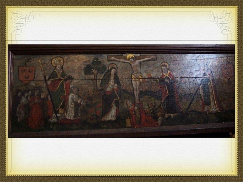 peintures eglise chatel