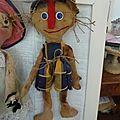 Art doll primitive le petit garcon