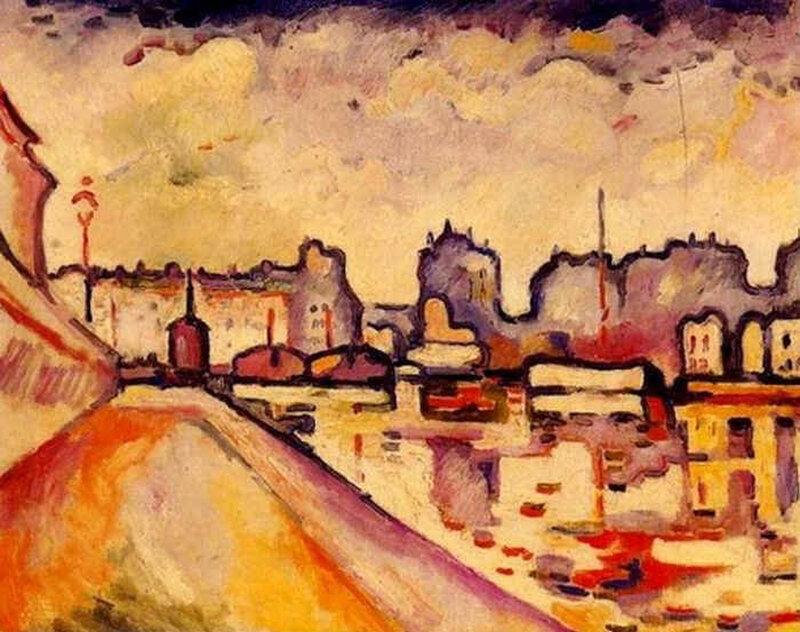 1916, Canal Saint-Martin