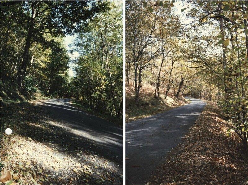 côte Durand début et fin octobre 1996