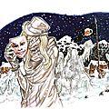 le masque de la mort blanche
