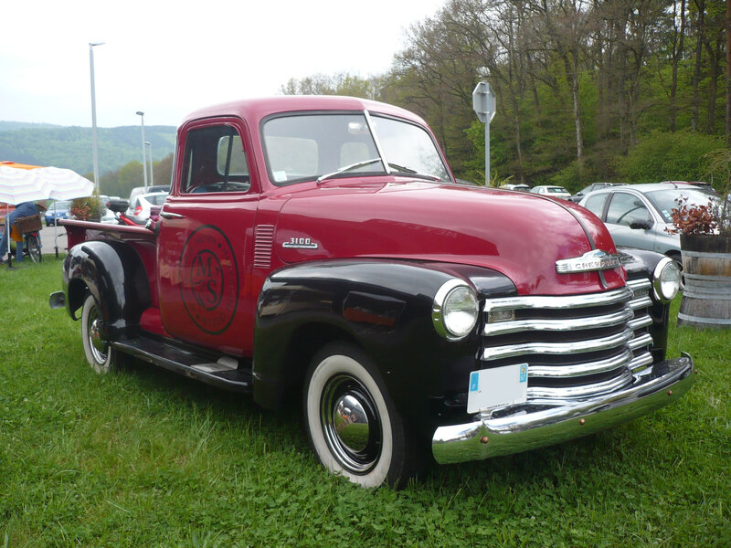 CHEVROLET 3100 2door pick-up 1953 Hohwarth (1)
