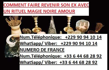 COMMENT FAIRE REVENIR SON EX AVEC UN RITUEL MAGIE NOIRE AMOUR