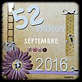 52 photos pour 2016 : septembre