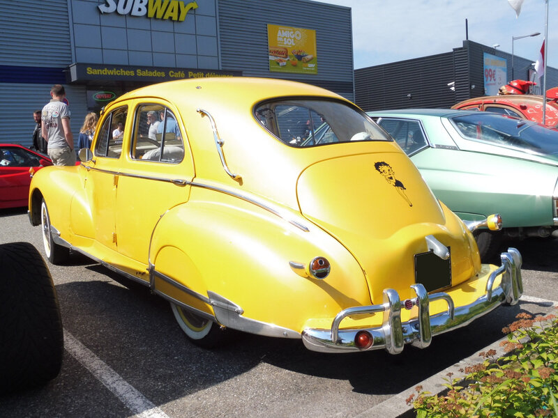 PEUGEOT 203 berline Custom Mulhouse (2)