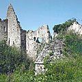 Vue sur le bastion du château