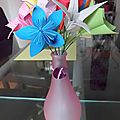 Mes fleurs en origami