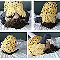 Robe destructurée facile pour fillette coquette