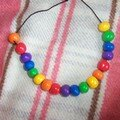 Collier arc-en-ciel #2