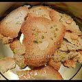 Tuiles au pain d'épices