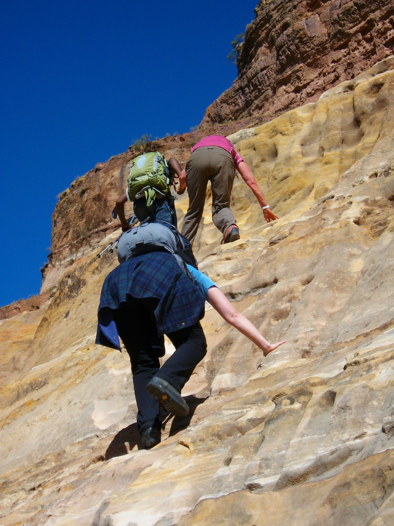 rock climbing in tigray
