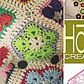 Tuto gratuit hippopotame au crochet african flowers