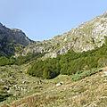 Le lac & pic d'er (2206m) / vallée d'ossau