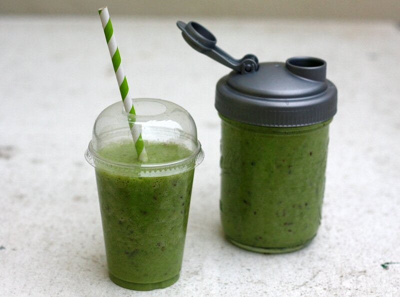 green smoothie ou smoothie vert blog chez requia cuisine et confidences