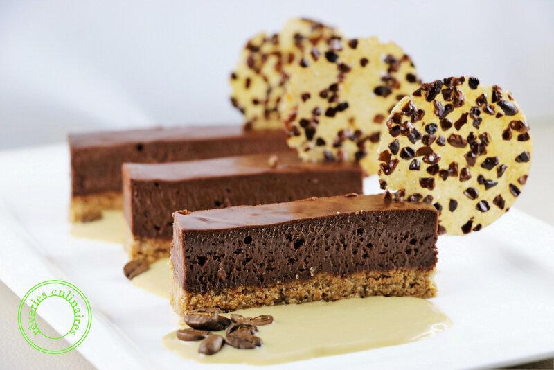 fondant chocolat au praliné feuilleté 1