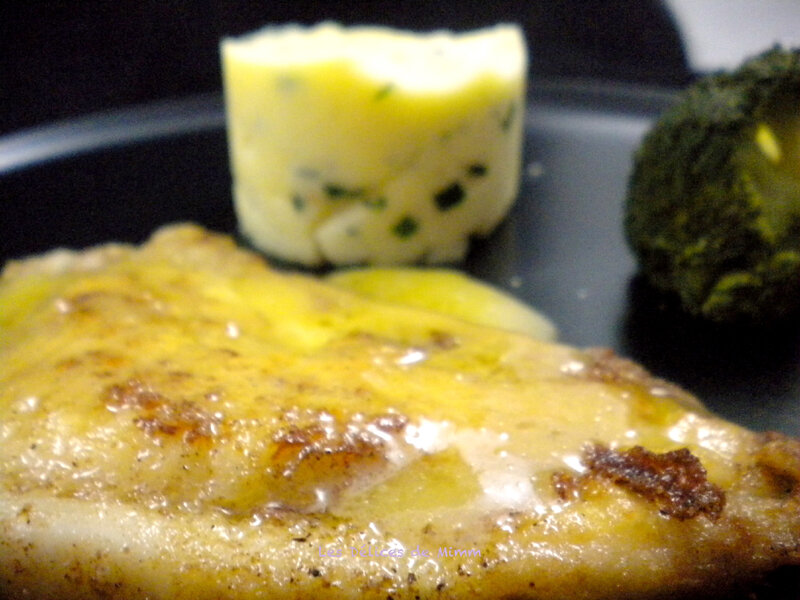 Filets de turbot au beurre blanc 4