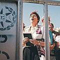 Une fois de plus, une femme arrêtée au mur des lamentations pour avoir osé chanter à voix haute au sein d'un groupe de femmes