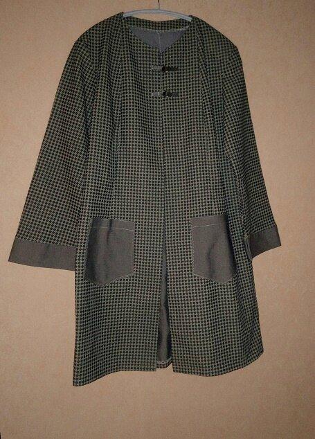 *Manteau vintage, 12 ans