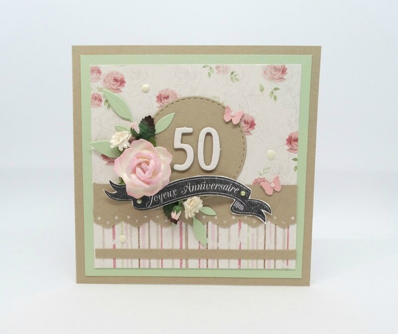 Cartes anniversaire Shabby chic 2