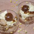Dessert à la crème de marrons , mascarpone et marrons glacés ...