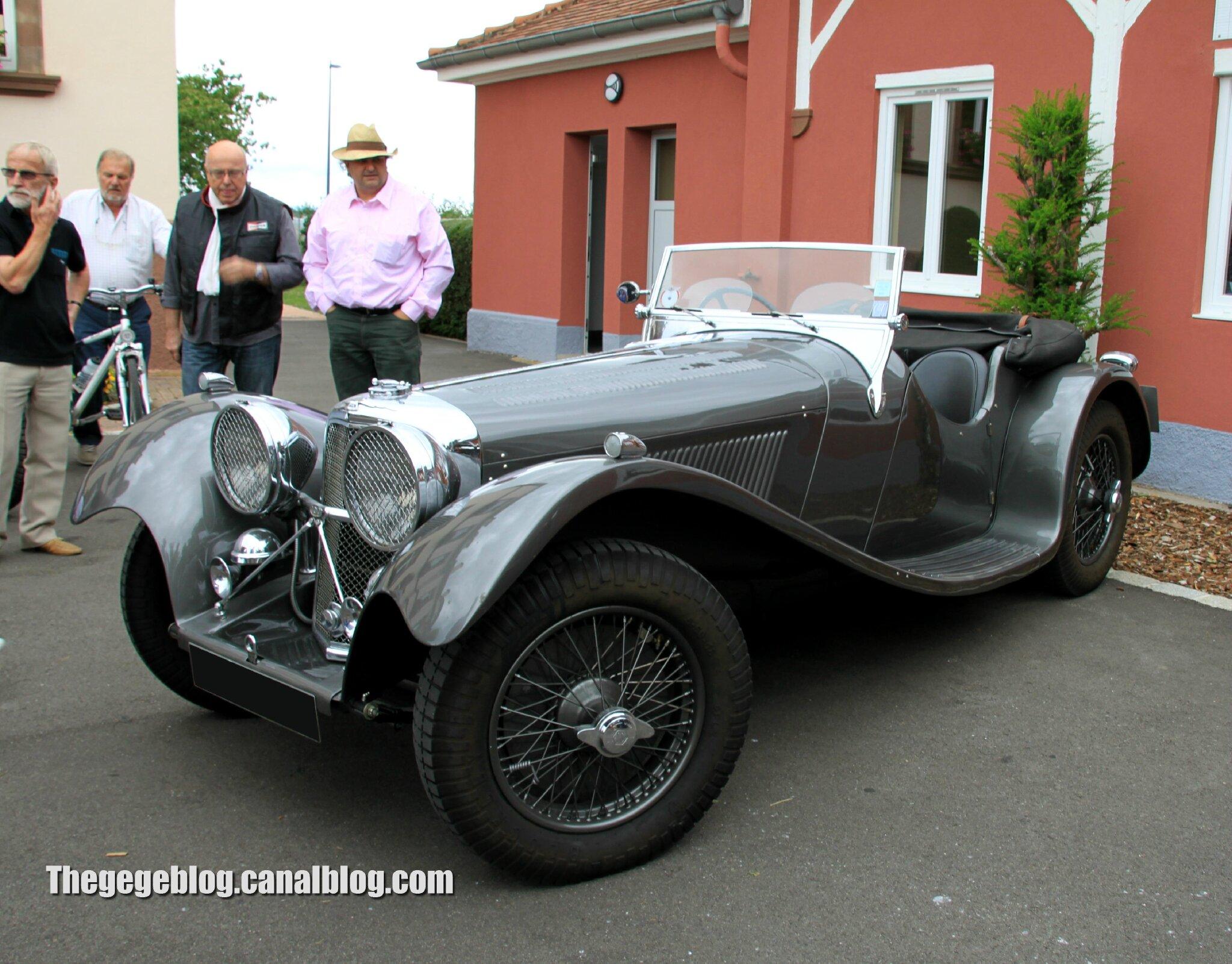 Jaguar SS100 roadster (Retrorencard aout 2012) 01