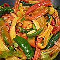 poivrons jaunes, rouge, verts - www.passionpotager.canalblog.com