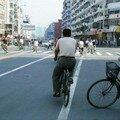 vélo à un carrefour