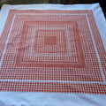 Nappe broderie suisse