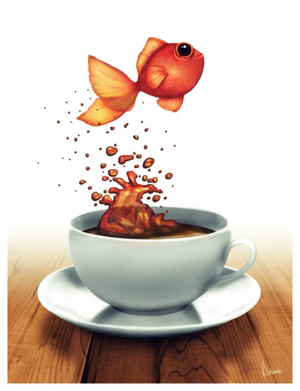 Coffee_Cup_Fish_by_traumtaenzer