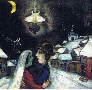 Chagall Dans la nuit
