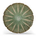 A rare green Jun bracket-lobed bowl, Northern Song-Jin dynasty, 12th-13th century