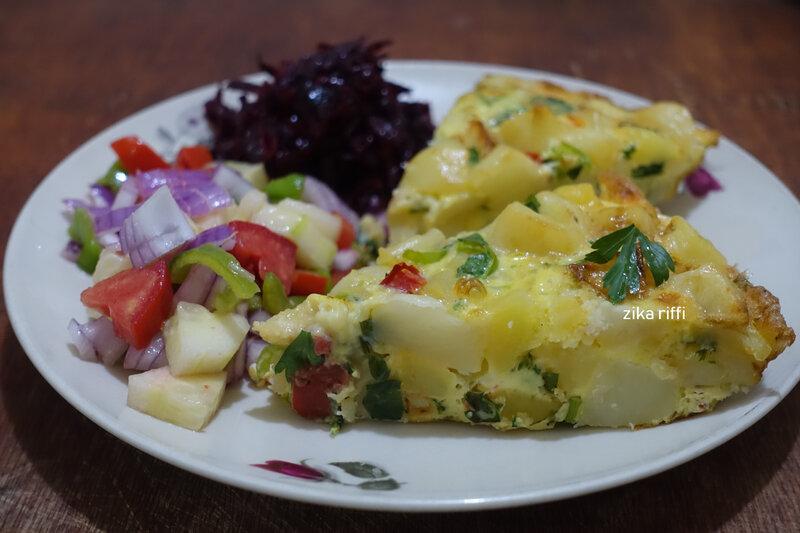 omelette pommes de terre au tajin 2