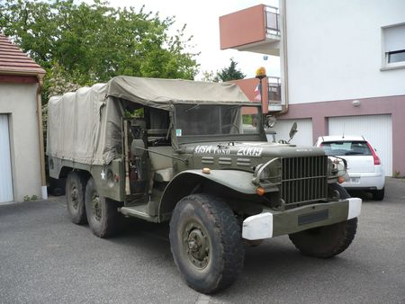 DODGE WC 62 Weapons Carrier 6x6 Herrlisheim (1)