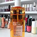 Review : l'huile démaquillante sensationnelle eclat sublime de l'oréal