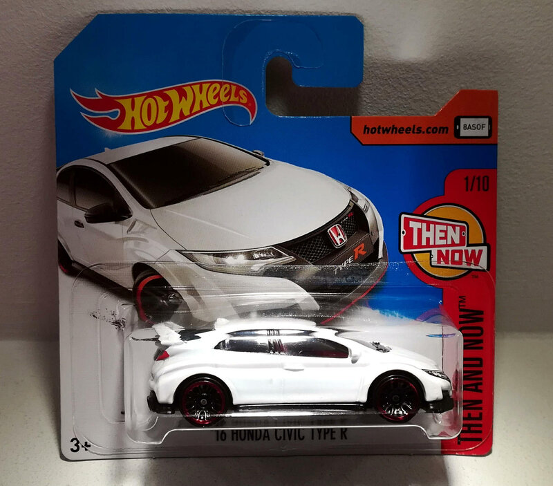 Honda Civic type R de 2016 (Hotwheels)