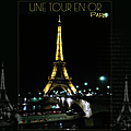 tour Eiffel en or