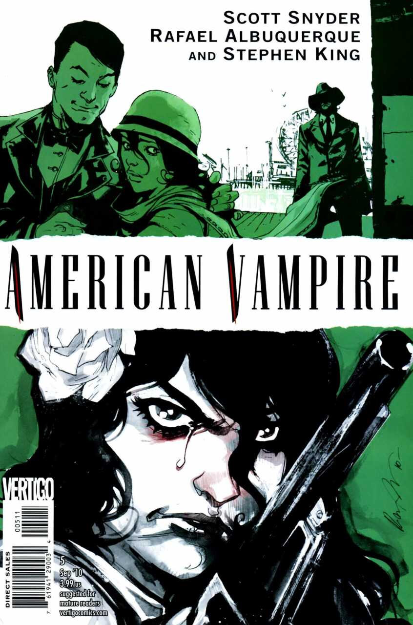 DC Vertigo American Vampire par Scott Snyder & Rafael Albuquerque