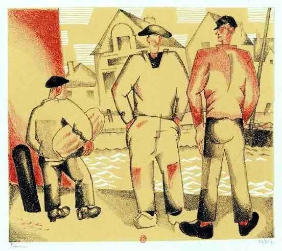 Laboureur les pécheurs et le mousse