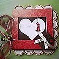 mini album mariage