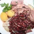 Joues de porc aux haricots rouges