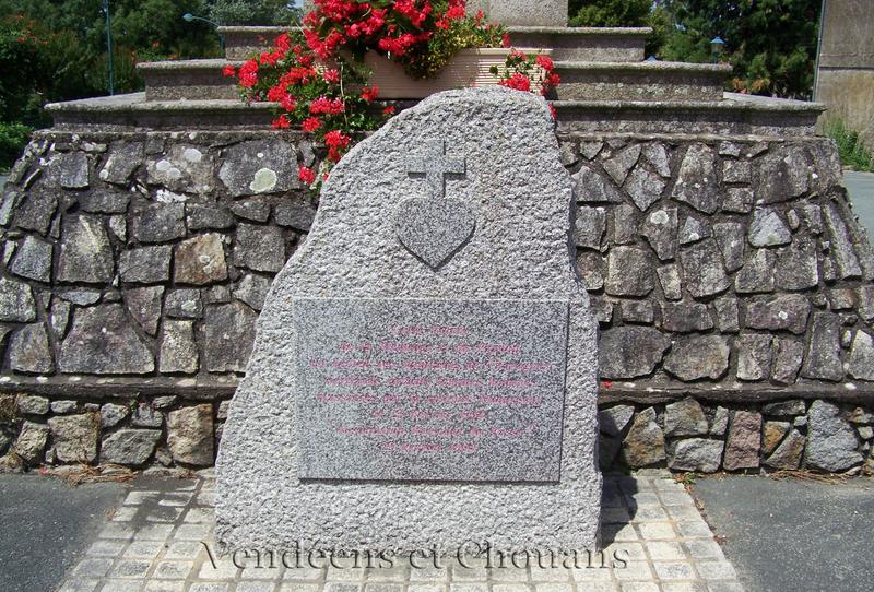 Stele des Martyrs de Chavagnes